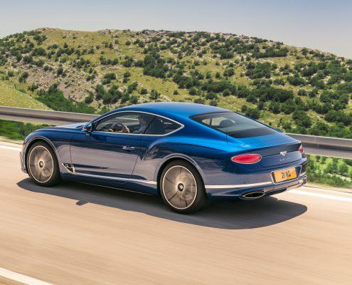 Bentley Continental GT iki ödül birden aldı