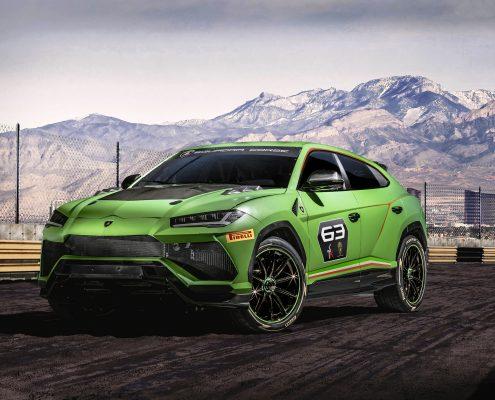 Lamborghini Urus yarışlara katılıyor