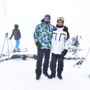 Kar safarisi yaptılar Foto: Şahin Zülfükar, Arif Farajzade