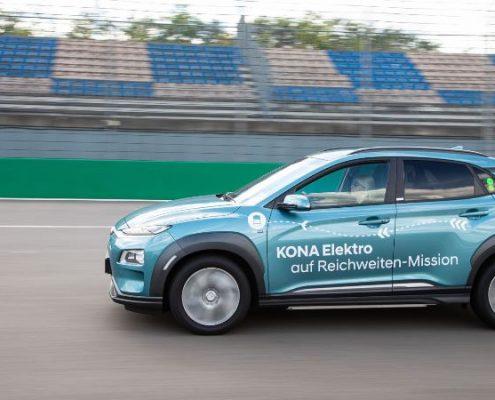 Hyundai KONA EV rekora imza attı