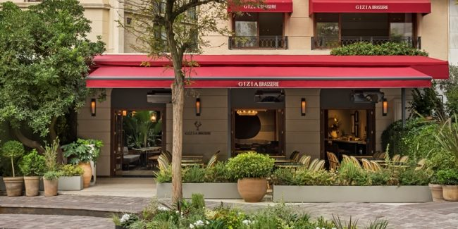 GIZIA Brasserie yeniden kapılarını açtı