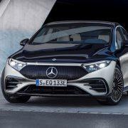 Mercedes-EQ markasının lüks sınıftaki ilk elektrikli otomobili EQS