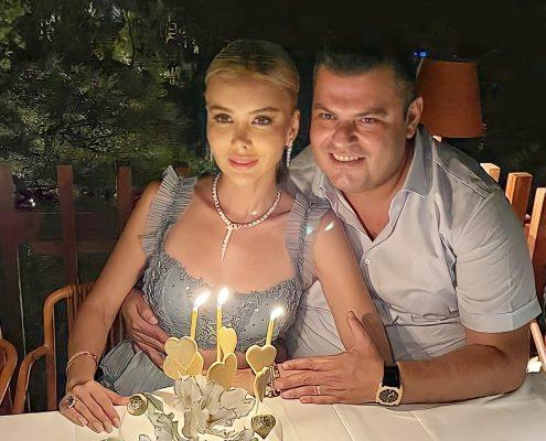 Yeni yaşını kutladı