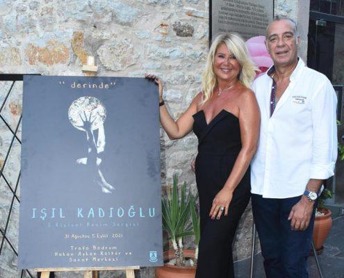 Işıl Kadıoğlu eserlerini sanatseverlerle buluşturdu