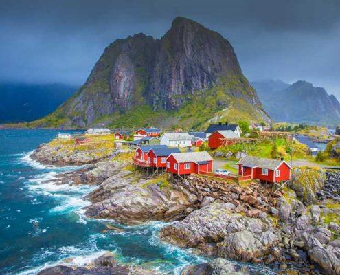Fiyortlar ülkesi Norveç