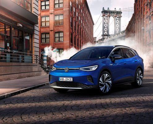 Volkswagen ID.4'e Dünya Yılın Otomobili Ödülü