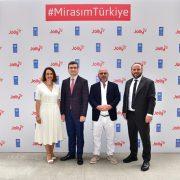 """""""Mirasım Türkiye"""" kampanyası büyüyerek devam ediyor"""