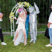 Aleyna, Robot ile dünya evine girdi
